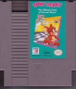 TOM AND JERRY & ORIGINAL CLASSIC GAME SYSTEM NINTENDO NES ...