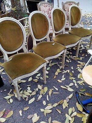 lot de 4 chaises medaillon ebay
