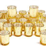 Artis Mercury Glass Votive Candle Tealight Holder 2 75 H Set Of 12 Speckled Silv For Sale Online Ebay