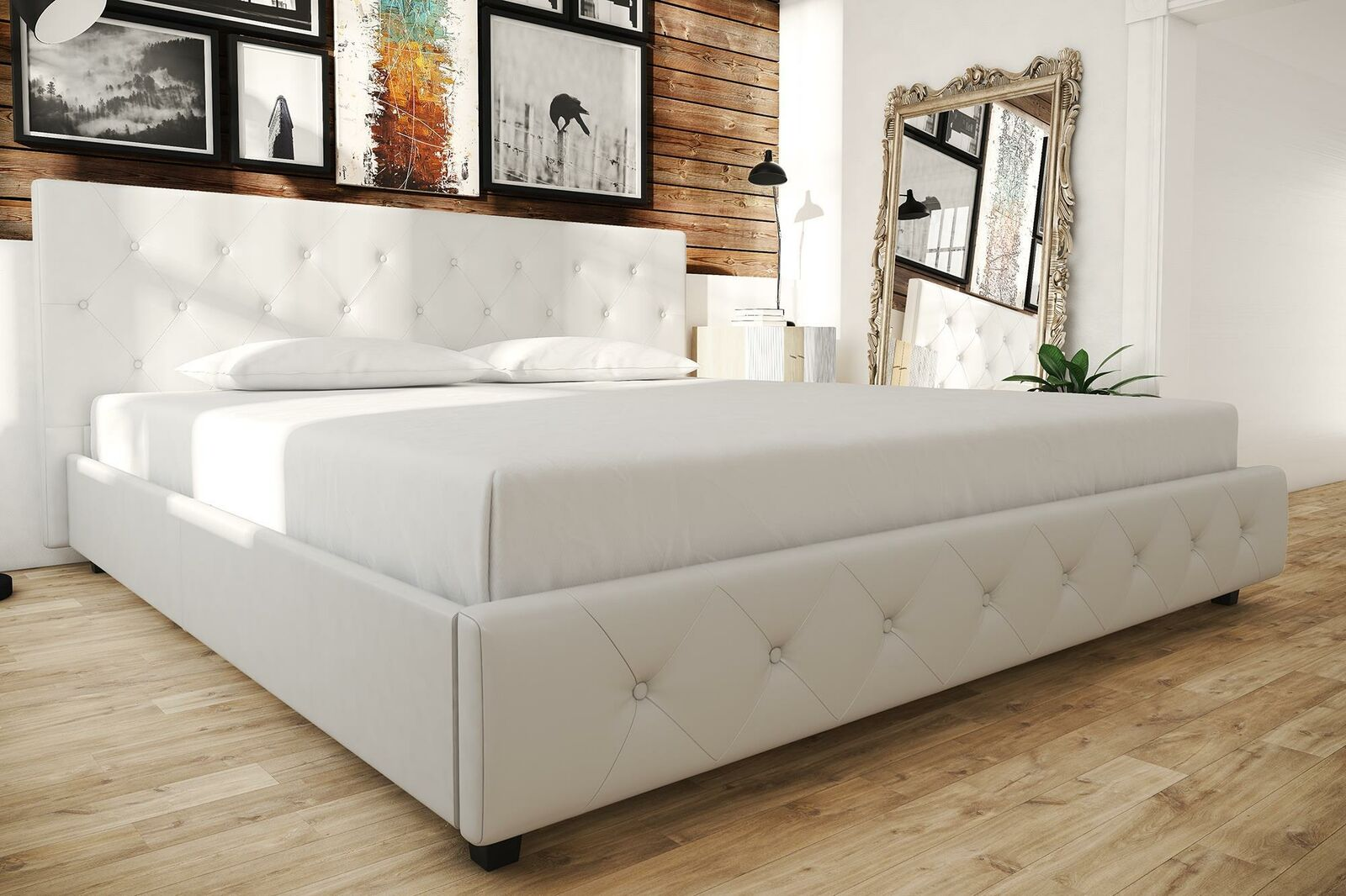 Maitland Smith Campaign Leather Rattan Bamboo King Size Platform Bed Exc Cond For Sale Online Ebay