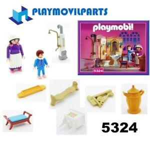 details sur playmobil 5324 salle de bains 5300 pieces de rechange multi afficher le titre d origine