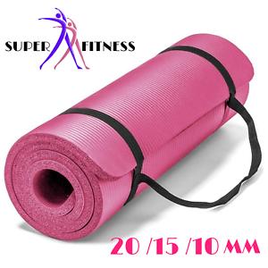details sur tapis de yoga tres epais sport tapis fitness tapis de sol fitness musculation