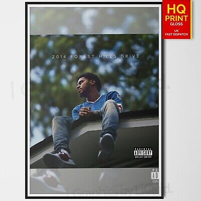 a1 size j cole poster 2014 forest hills