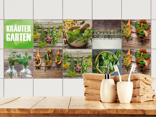 Tegeldecoratie en -stickers Fliesenaufkleber Küche 15x15 ...