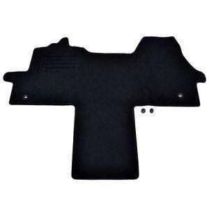 details sur tapis sol fiat ducato 250 bus cabine camping car moquette noir specifique