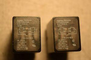 Tyco Potter Amp Brumfield K10p 11d15 12 Power Relay 12vdc