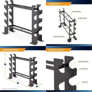 marcy compact dumbbell rack free weight