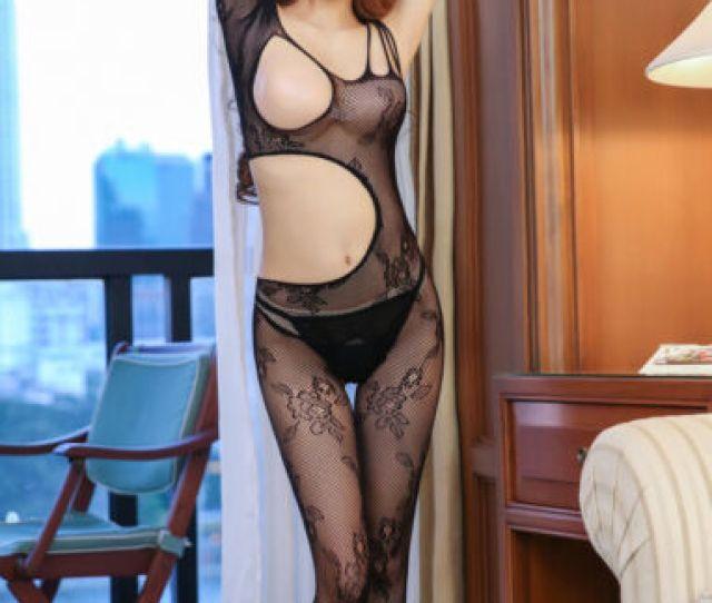 Bodysuit Women Sheath Sexy Lingerie Sexy Catsuit Stocking Porn Lingerie Net Sock