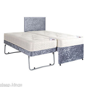 Image Is Loading 3ft Single Guest Bed 3 In 1 With