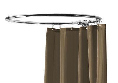 circular shower curtain rail hi quality nickel platd b ebay