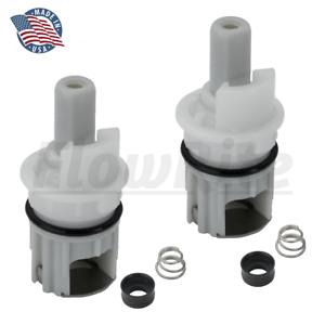 details about flowrite stem kit for delta faucet rp1740 two handle faucet repair 2 pack