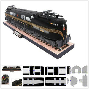 23/09/2018· in this video you will see how to make a paper folding train.you can buy this at new delhi railway station at pf1 at souvenir shop.hello my name is divy. New 1 56 Scale Gg1 Type Electric Locomotive Train 3d Paper Educational Model Kit Ebay