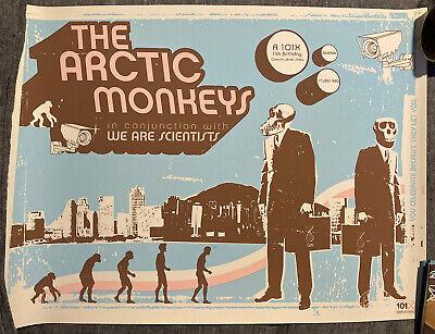 arctic monkeys poster 6 7 06 ebay