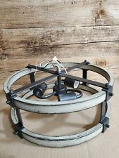kichler anvil iron and driftwood rustic
