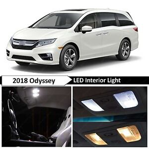No accidents, 1 owner, personal use. 15x White Interior Map Dome Trunk Led Lights Package Kit Fit 2018 Honda Odyssey Ebay