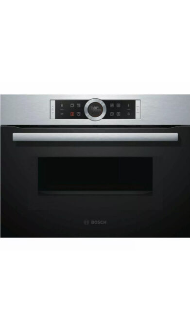 bosch cmg633bs1b 60cm 45l built in combi microwave oven stainless steel