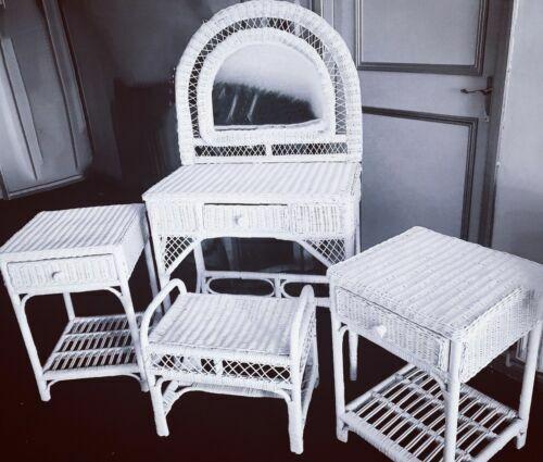 wicker dressing tables for sale ebay