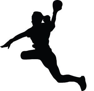 details zu autoaufkleber handball 002 lady sticker aufkleber handballerin handballspielerin