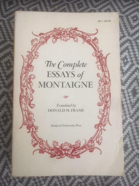 Donald Frame Montaigne | Framess.co