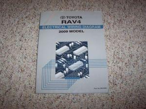 2009 Toyota RAV4 Electrical Wiring Diagram Manual Sport Limited 25L 35L V6 | eBay