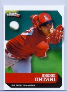 "SHOHEI OHTANI 2018 SPORTS ILLUSTRATED ""1ST EVER PRINTED ..."