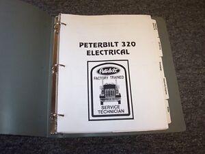 Peterbilt Model 320 Factory Electrical Wiring