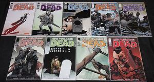Image WALKING DEAD #103-111 - 9pc Comic Lot Grade VF-NM 1st Ezekiel Kirkman