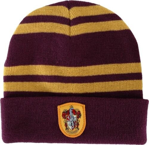 NEW-Harry-Potter-Hogwarts-Gryffindor-Beanie-Official-Licensed-Merchandise-Elope