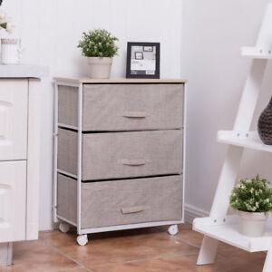 details sur caisson a tiroirs sur roulettes meuble tour de rangement table de chevet commode