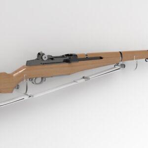 details zu rifle wall mount brackets rifle display stand weapon stand gun rack