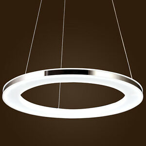 Image Is Loading Modern Galaxy Round Ring Led Chandelier Ceiling Lights