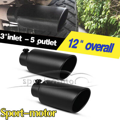 car truck parts pair 3 inlet exhaust