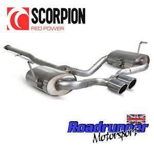 details zu scorpion mini cooper s r53 r52 exhaust system cat back smn003 hatchback cabrio