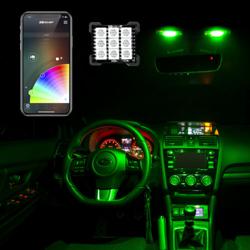 car dash instrument cluster accent lighting kit 6led head 2 6ft fiber optic glow auto parts and vehicles bennysberries car truck lighting lamps