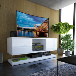 plimbare meuble sous tv suspendu
