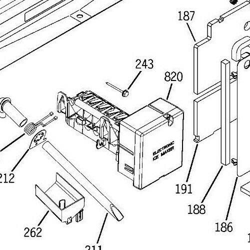 Ge Profile Refrigerator Ice Maker Parts Diagram