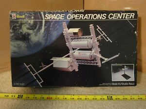 Vintage Revell Space Operations Center, 1/144 Space ...