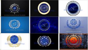 United Federation Of Planets President Starfleet Star ...
