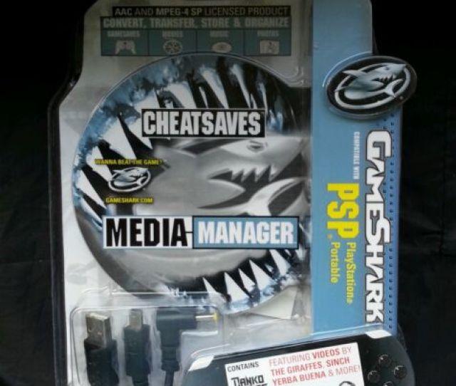 Cheat Codes Gameshark Media Manager Sony Psp