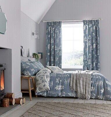 sanderson laurel navy bedding cover sets curtains cushions ebay