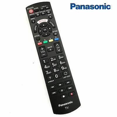 original panasonic plasma tv remote control n2qayb001008 no back cover ebay