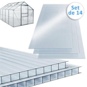 details sur 10 25 m plaque de polycarbonate creux plaques a double paroi 4mm d epaisseur