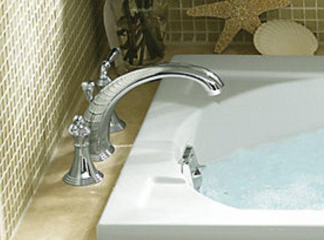 kohler devonshire deck mount bath tub faucet trim t3874cp polished chrome