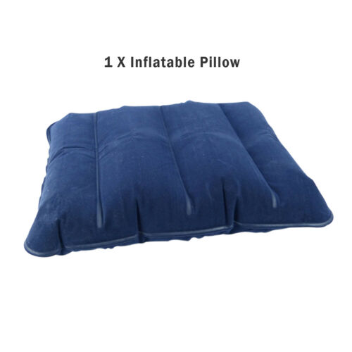 sporting goods i beam essential flocked inflatable travel pillow blow up camping beach cushion dmeventsboutique