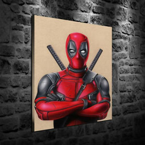 Image result for deadpool paintings