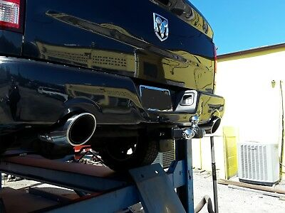 pair of five inch stainless exhaust tips fits 09 19 dodge ram 1500 hemi bolt on ebay
