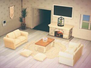 Living Room Animal Crossing New Horizons - RUNYAM on Animal Crossing New Horizons Living Room Ideas  id=99030