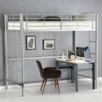 Twin Loft Metal Bunk Beds Teens Kids Bedroom Boys Girls Furniture Dorm Brand For Sale Online Ebay