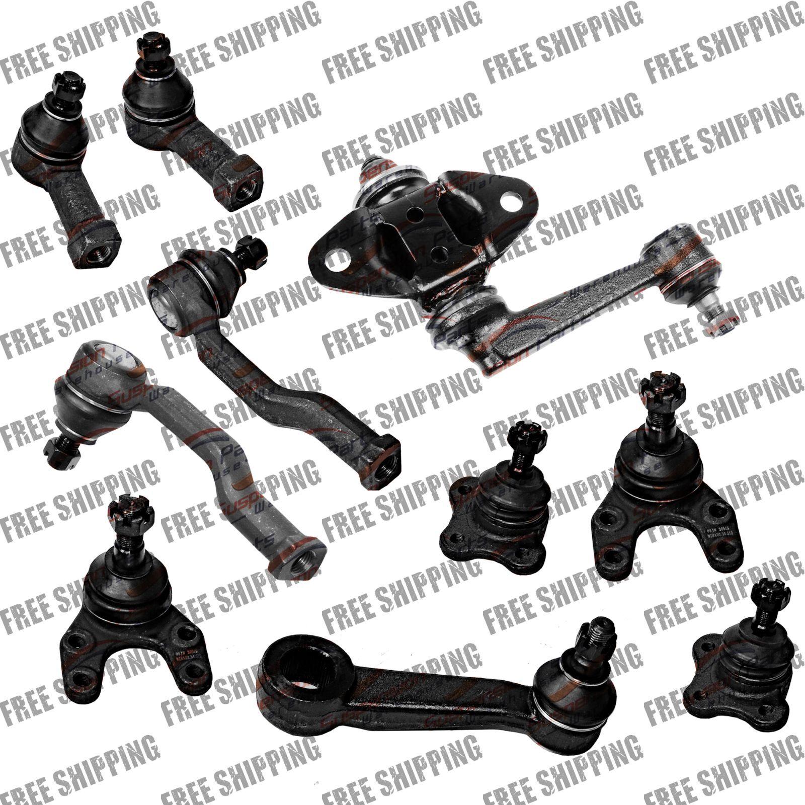 92 93 2wd Suspension Mazda B220 B Ball Joint Pitman Idler Arm Tie Rod End