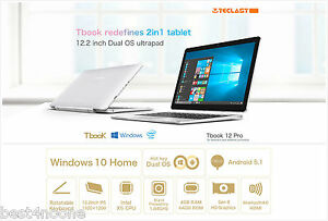 12.2'' Teclast TBook 12 Pro Tablet PC Trail Z8300 Quad Core Dual System HDMI